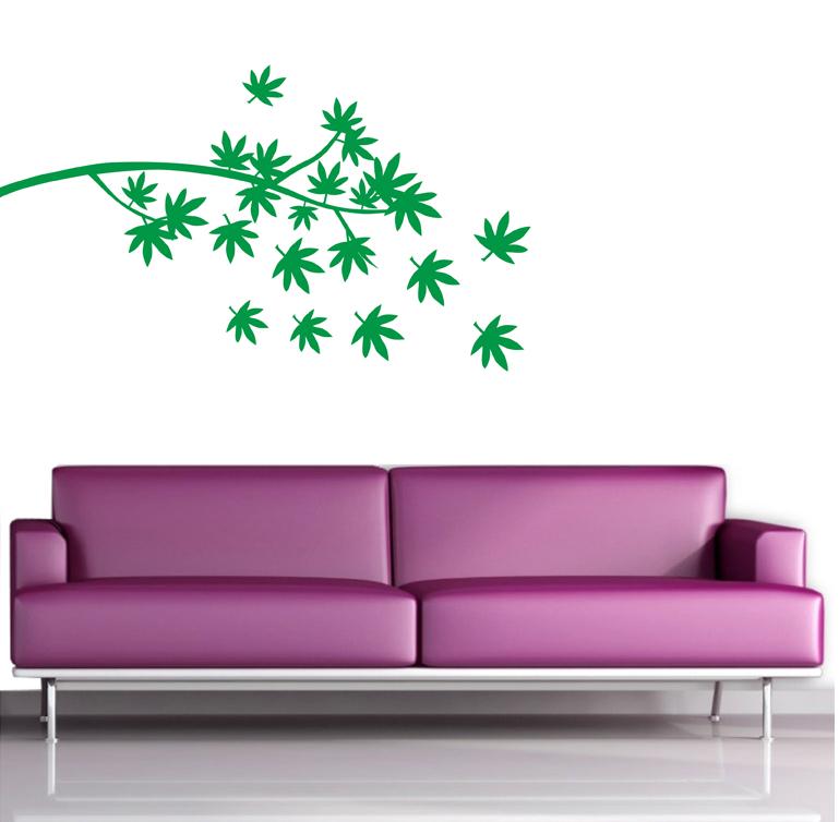 wandtattoos wandtattoo pflanzen online kaufen. Black Bedroom Furniture Sets. Home Design Ideas
