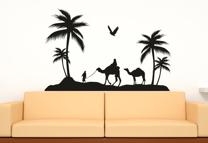 wandtattoos afrika wandtattoo afrikanische savanne. Black Bedroom Furniture Sets. Home Design Ideas
