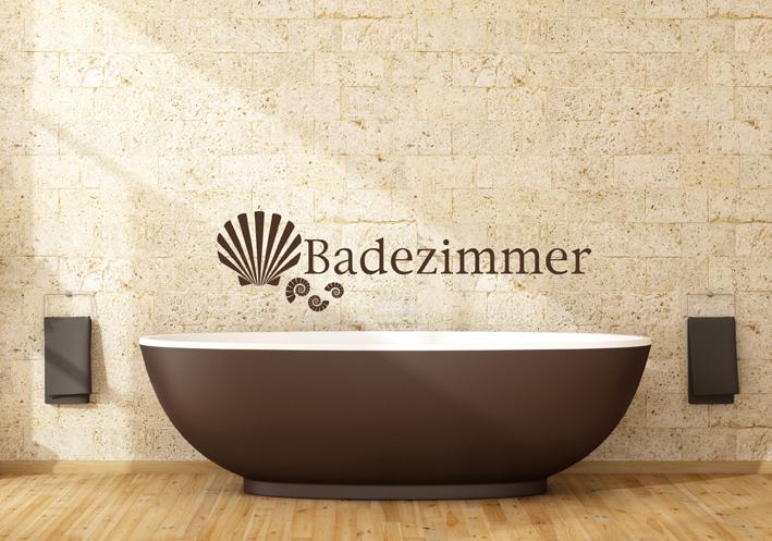 Wandtattoo Badezimmer 2 | Wandtattoos von centralstyle.de