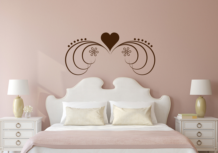 romantische liebes wandtattoos rund um liebe finden sie hier im online shop. Black Bedroom Furniture Sets. Home Design Ideas