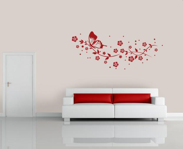 schlafzimmer rote wand wohnideen fr schlafzimmer mit wandtattoo noveric for - Wohnideen Fr Schlafzimmer Mit Wandtattoo